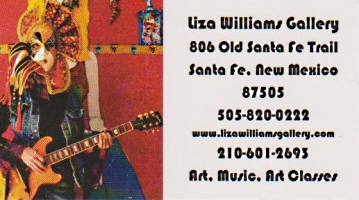 liza williams gallery santa fe art music